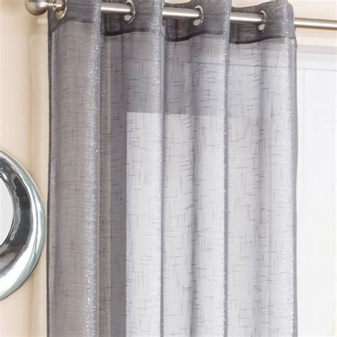 voile curtains with eyelets marrakesh eyelet voile panel grey voile panels