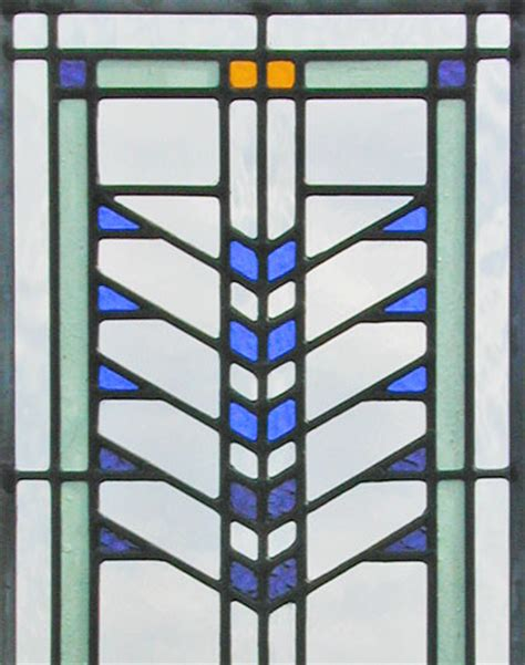 frank lloyd wright stained glass stained glass window inspired by frank lloyd wright s