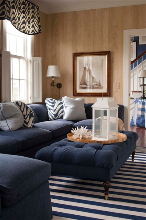 navy couches living room 19 fantastic nautical interior design ideas for your home