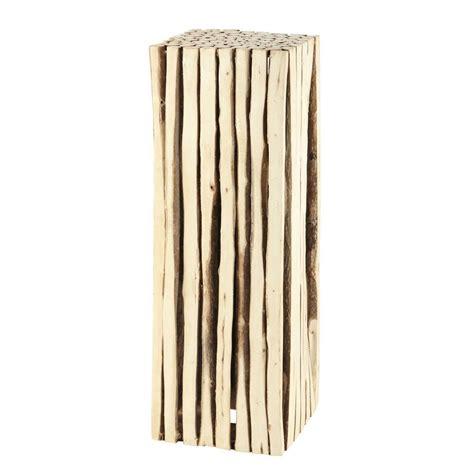 Balkonbeläge Aus Holz by Deko S 228 Ule Ge Aus Holz H 95 Cm Maisons Du Monde