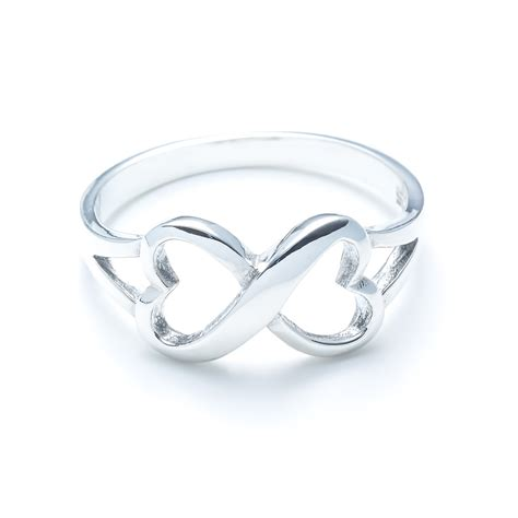 infinity ring silver sterling silver infinity ring landing company