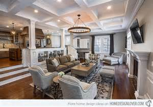 Luxe Home Interiors Victoria by 15 Beautiful Traditional Coffered Ceiling Living Rooms
