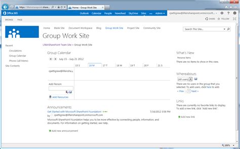 team site template sharepoint 2013 team site exles search engine