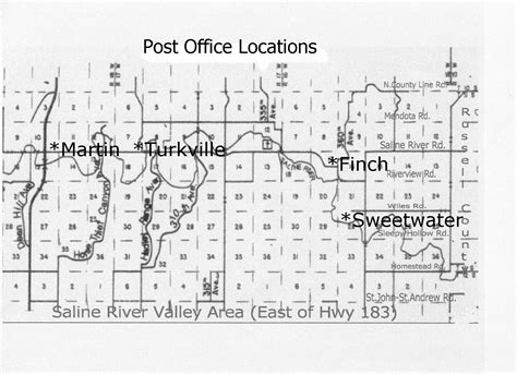 Saline Post Office by Saline River Valley Post Offices