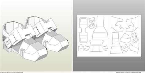 Foamcraft Pdo File Template For Halo 4 Forward Unto Dawn Full Armor Foam Halo Foam Templates