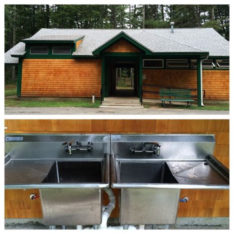washing dishes in bathroom sink diy leave no trace bear brook style nh state parks