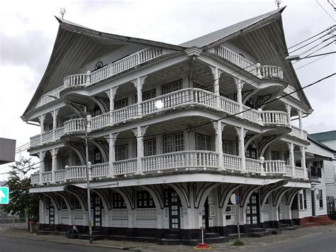 Country Style Houses by Suriname Attractions And Landmarks Wondermondo