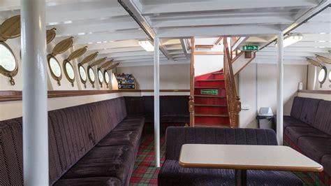unter deck loch katrine und das dfschiff sir walter