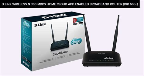 D Link Wireless Dir 605l Mbps Home Cloud App Enabled Broadband Router 2 5 best cheap wifi router 50 in 2018