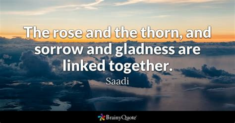Quote Of The Day Saadi by Saadi Quotes Brainyquote