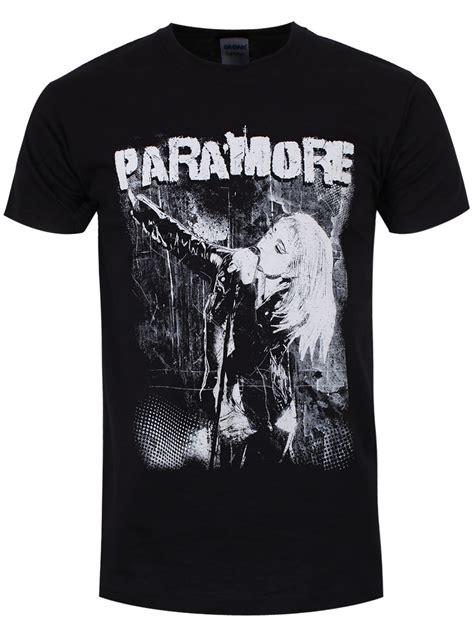 Paramore Black Shirt paramore grunge s black slim fit t shirt offical