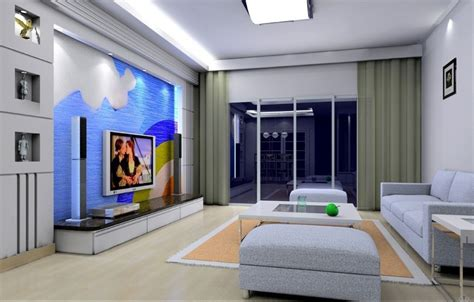 fashion simple blue living room interior design 3d simple interior design living room indian style decobizz com