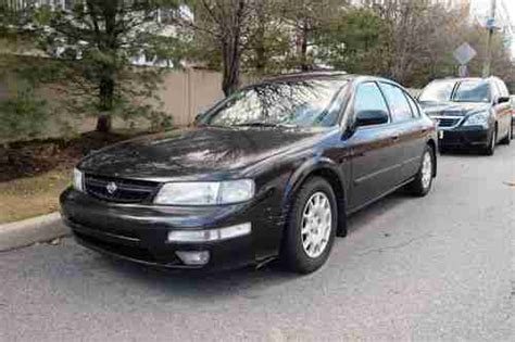 how to sell used cars 1997 nissan maxima transmission control sell used 1997 nissan maxima black fully loaded 5 speed in clifton new jersey united states