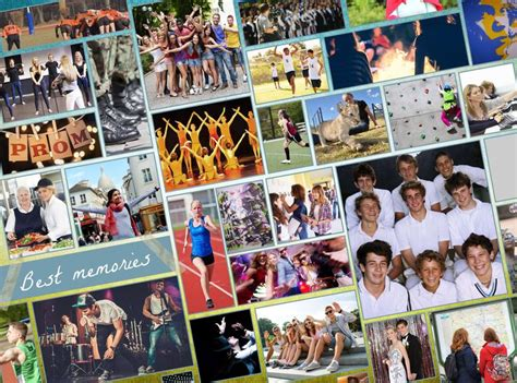 1000 Images About Yearbook Page Types On Pinterest Yearbook Collage Template