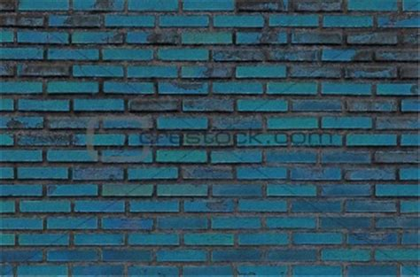 image 4133461 blue paint grunge brick wall from crestock stock photos