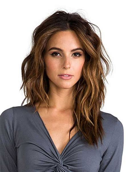 do layers look in thick slightly wavy hair best 25 haircuts ideas on pinterest lob haircut hair