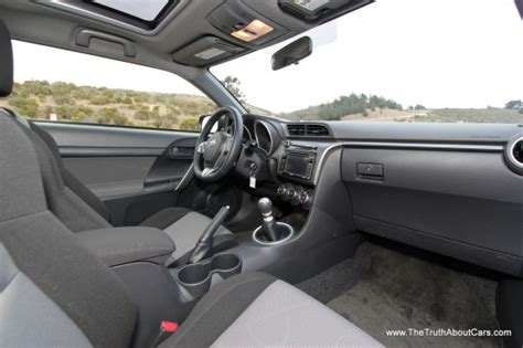 2014 Scion Tc Interior by Review 2014 Scion Tc With 24 Cars Blue Sky