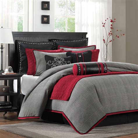 red and gray comforter sets best 25 red bedding sets ideas on pinterest red beds