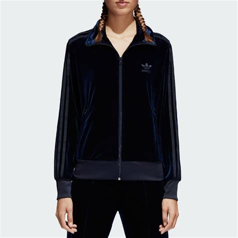 Hoodie Adidas Firebird Original adidas originals womens firebird track top velvet womens clothing from cooshti