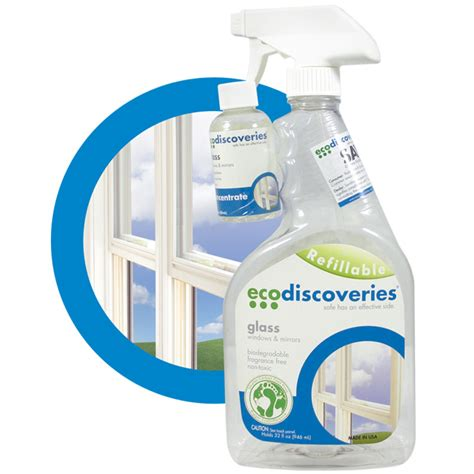 eco friendly cleaning products glass