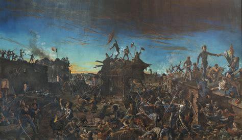 the battle of the alamo 1836 texas revolution alamo battle of the the handbook of texas online texas