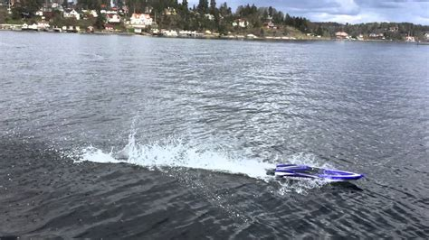 rc boat traxxas spartan in the ocean youtube - Rc Boats In The Ocean