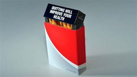 How To Make A Cigarette Box Out Of Paper - free covers to filter cigarette pack warnings may be illegal