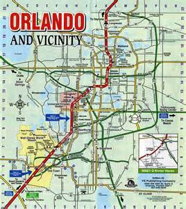map florida orlando map of orlando world map photos and images