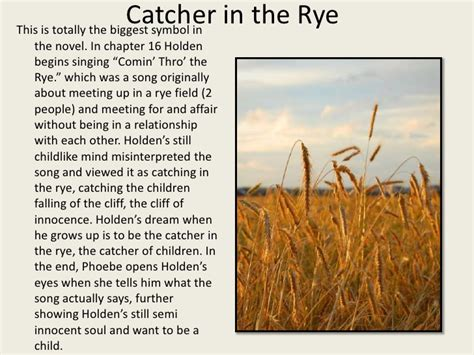 theme of falling in catcher in the rye holden s head