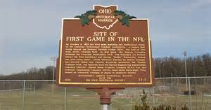 Triangle Park Site Of First Game In The Nfl