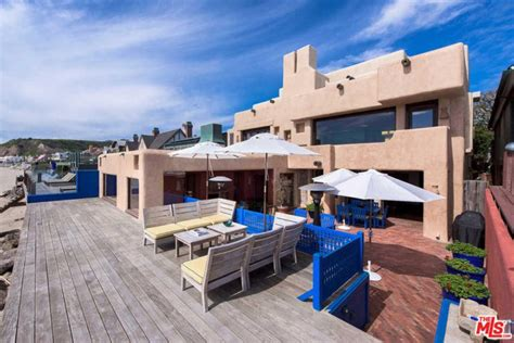 buy a house in malibu rent sting s malibu beach house for the summer celebrity