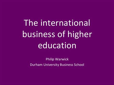 U Of T Mba Tuition by International Business He