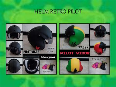 Helm Chips Retro Coklat Dof Kaca Bogo 0857 9196 8895 i sat jual helm bogo classic jual helm bogo doraemo