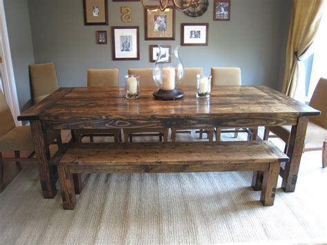 large kitchen tables with benches kitchen table bench plans farmers with and chairs modern