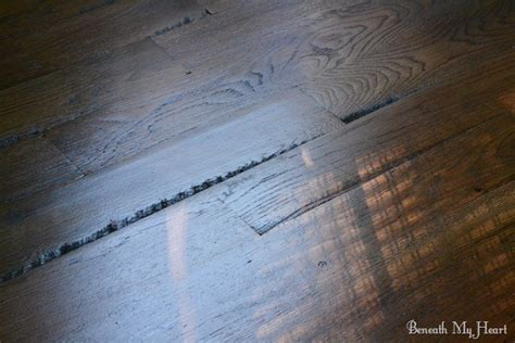 Our Utility Grade Hardwood Oak Floors {Facts and Pictures