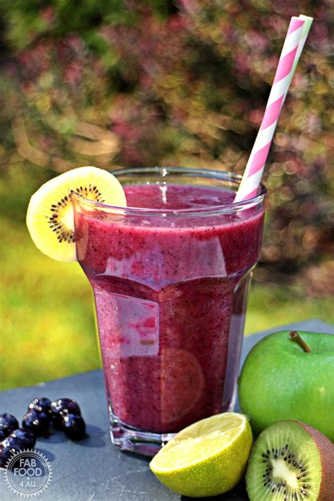2 fruit smoothies a day 5 a day fruit smoothie