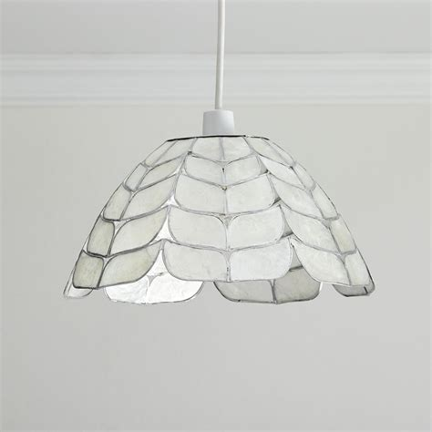 Wilkinsons Ceiling Light Shades Wilko Capiz Dome Shade At Wilko