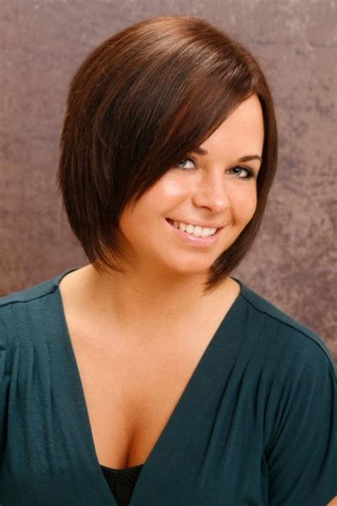bob haircuts on chubby faces 12 short haircuts for round faces learn haircuts