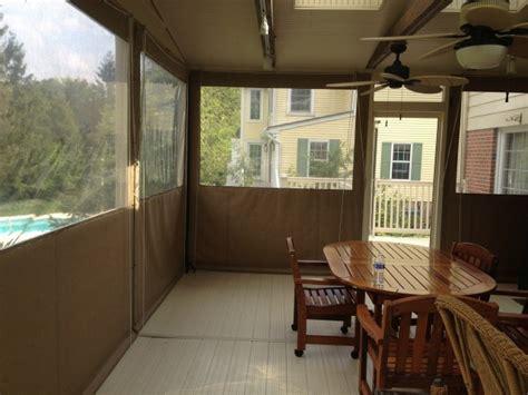 Clear Vinyl Curtains For Porch Drop Curtains Enclosures Kreider S Canvas Service Inc