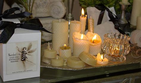 Handmade Candles Sydney - about our australian beeswax candles nourished