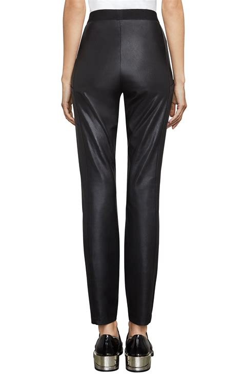 faux leather andrei faux leather legging