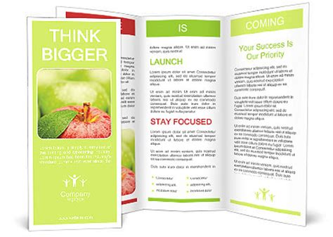 apple brochure templates apple brochure template design id 0000007904