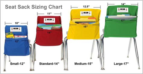 seat sacks for classroom chairs resource classroom management classroom