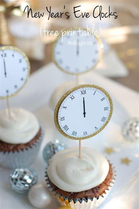 printable midnight clock new year s eve midnight clock printable cupcakes du