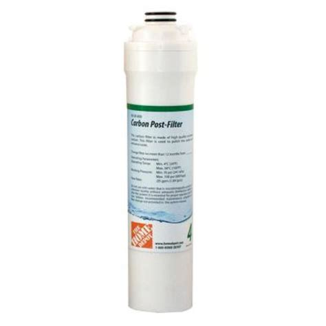 the home depot carbon post filter replacement cartridge