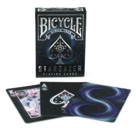 united states card company bicycle cards box template bicycle starlight stargazer black specialty