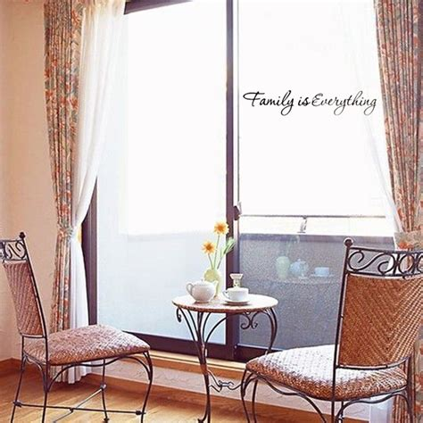 Everything Home Decor by Diy Family Is Everything Removable Home Decor Vinyl