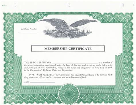 stock certificates templates blank stock certificate template selimtd