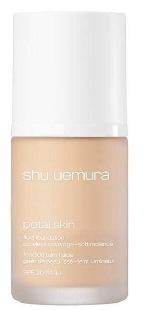 Petal Skin Foundation 754 shu uemura 2017 petal skin fluid foundation