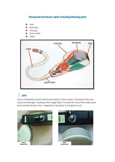 transducer repair transducer repair study jiaruimedical